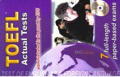 دانلود کتاب TOEFL Actual Test