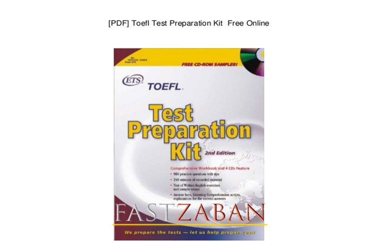 دانلود کتاب TOEFL Test Preparation KIT نسخه اصلی و کامل