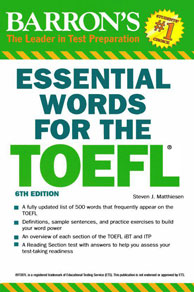 ۷. کتاب ESSENTIAL Word for the TOEFL