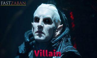 آموزش لغات کتاب ۵۰۴ واژه تصویری - واژه villain