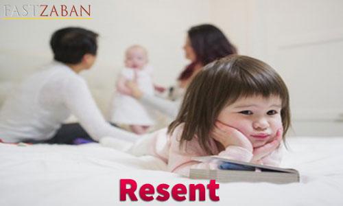 واژه resent
