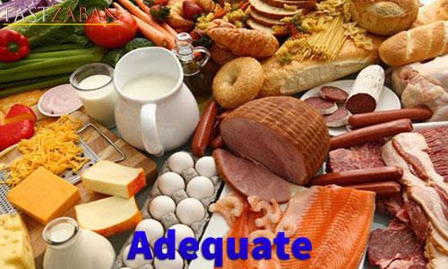 واژه Adequate