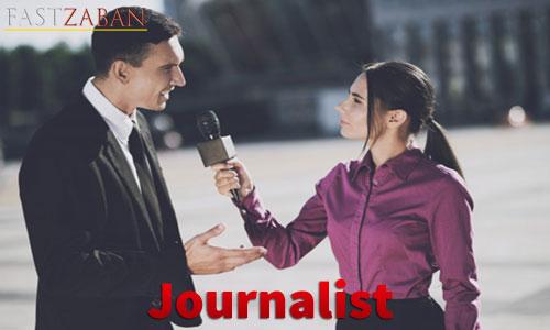 واژه Journalist