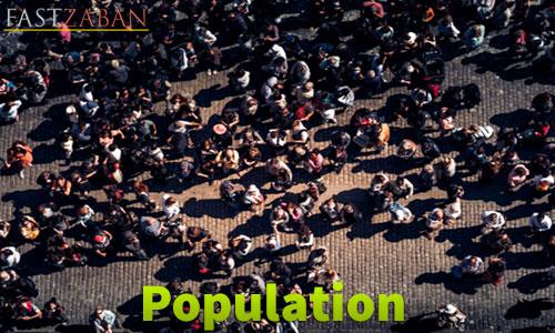 واژه Population
