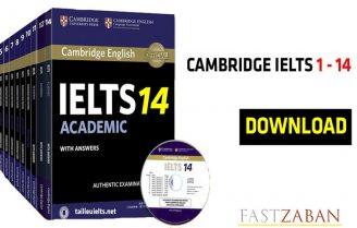 دانلود مجموعه کامل IELTS Cambridge 14 - 1