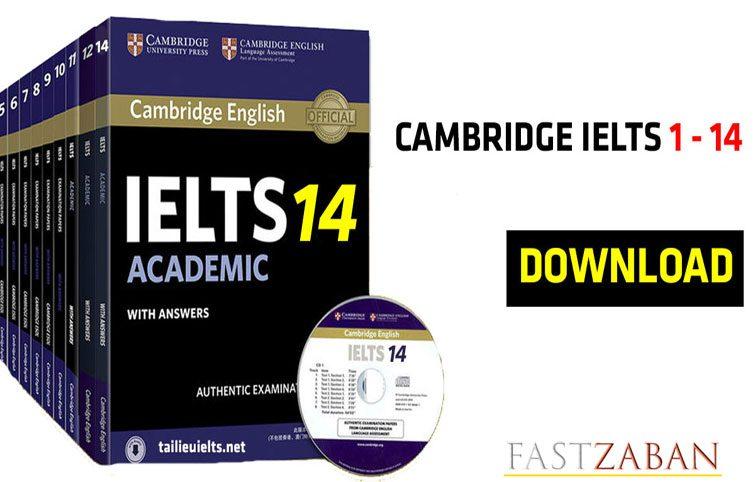 دانلود مجموعه کامل Cambridge IELTS  14 – 1