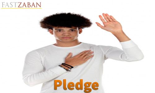 واژه pledge