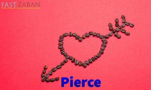 لغت Pierce