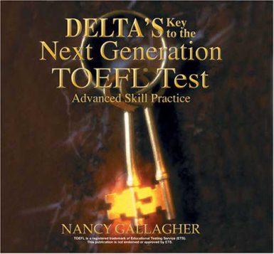 ۲- کتاب Delta key to the next generation TOEFL test