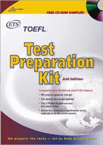 کتاب TOEFL Test Preparation KIT