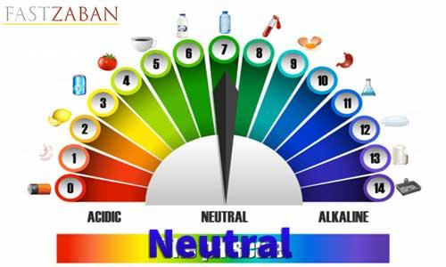 آموزش لغات کتاب ۵۰۴ واژه تصویری - لغت Neutral