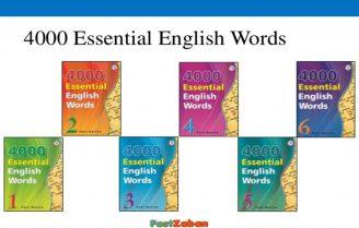 دانلود pdf مجموعه 4000 لغت ضروری انگلیسی + فایل صوتی