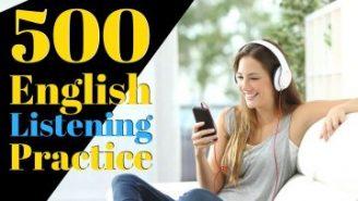 500 عبارت مفید برای تقویت Listening انگلیسی – بخش اول