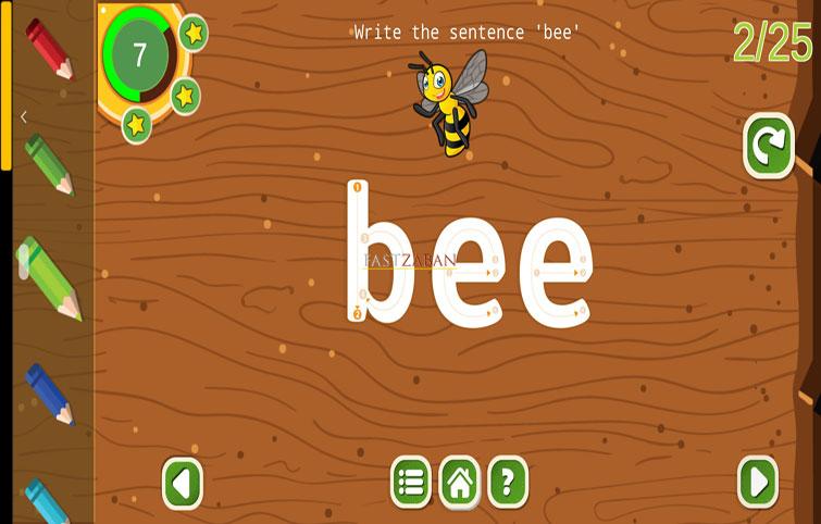 دانلود نسخه رایگان زنبور – اپلیکیشن آموزش زبان به کودکان